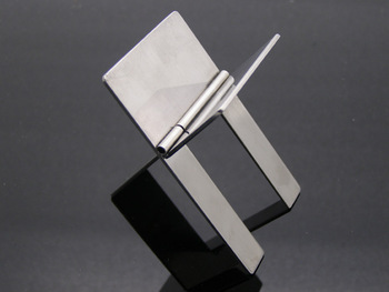 Brand New  Portable 4pcs/lot COHIBA Stainless Steel Cigar Stand Chrome  Folding Pocket Holders Display Ashtray Free Shipping
