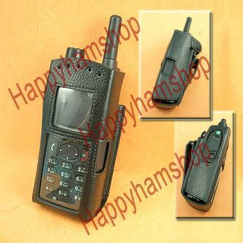 For Motorola MTP850 two way radio Walkie talkie Leather Case