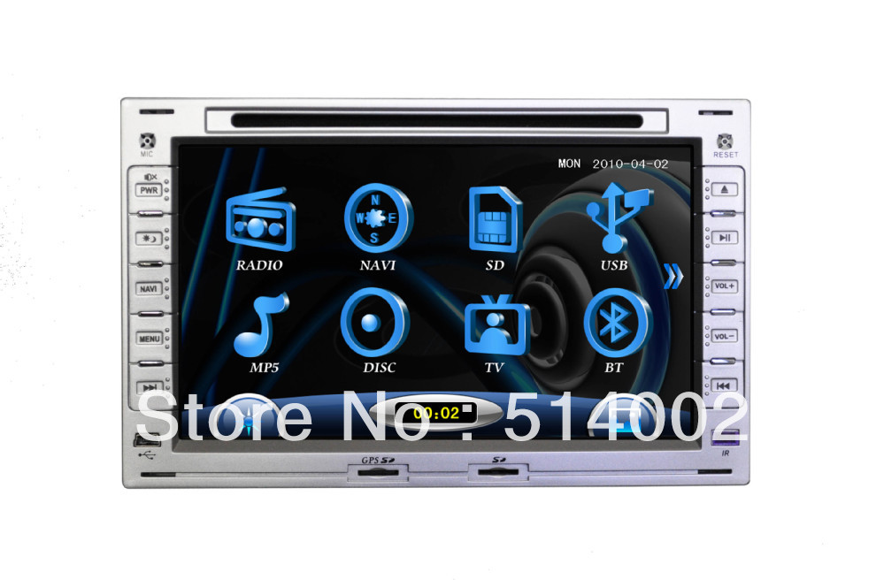 Volkswagen Jetta Car DVD GPS support ipod TV SWC(China (Mainland))