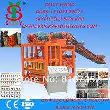 hollow block making machine price