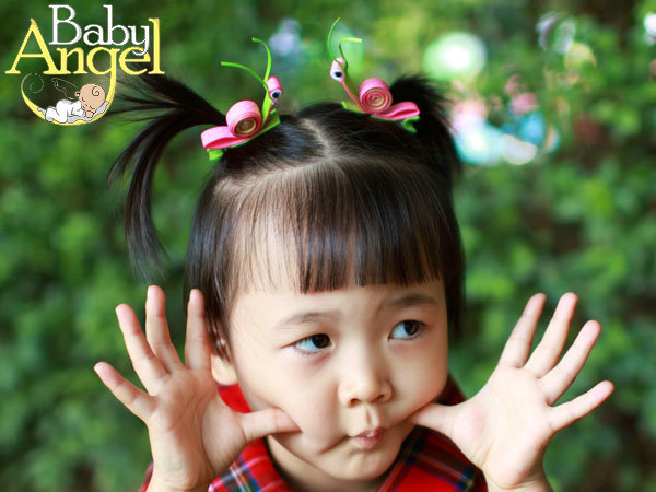 cute Snail kids hair accessories , free shipping