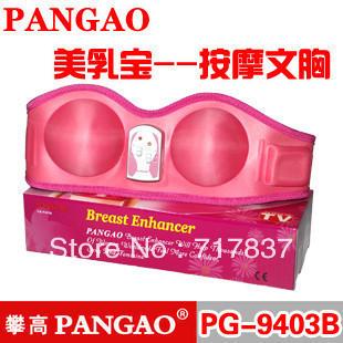 Free shipping 2013 Magic massage Bra, sexy Breast Massager pangao brand FB-9403B breast health machine one size wholesale retail