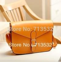 New desigual 2014 fashion women messenger bags cross body leather handbags satchel shoulder bag 14 colors free shipping QHS0015