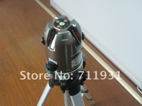 NEW CPAP Free shipping! 5 line 1 point  Self-leveling Cross Line Laser Level METAL COLOR self leveling laser
