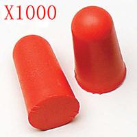 1000 pcs 3M Red Foam Noise Prevention