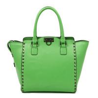 TMC 2013 Hot Selling New Doomsday Elegant Designer Lady Gunmetal Color Rivets Hobo Tide Handbag Solid OL Chic Pastage YL270