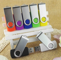 Free shiping Swivel Plastic USB Flash Drive 1GB 2GB 4GB 8GB 16GB 32GB