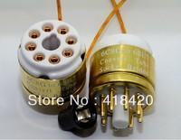 6C8G TO 6SL7  Vacuum tube adapter socket converter