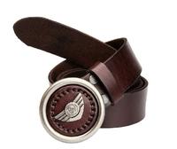 2013 Genuine Leather Man Woman Dress Belt Vintage Metal Rivets Belts For Women Brand Cowhide Strap Cinto Punk Waistband TBT0041