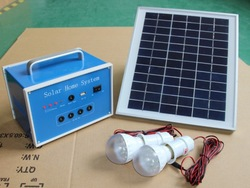 Solar power system, solar system, solar home lighting system 10W 12V4AH(China (Mainland))