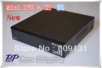 Free Shipping Best Price H.264 4CH Full D1 Real-time DVR with 3G Cellphone View with Russian Language