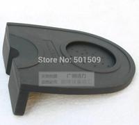 Free shipping tampering corner mat tamping mat tampering mat Espresso coffee tamper mat  non slippery style black