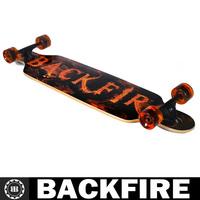 """Backfire skateboards 42"""" Sector 9 drop through double wrapped four wheels complete longboard canadian maple skateboard longboard"""