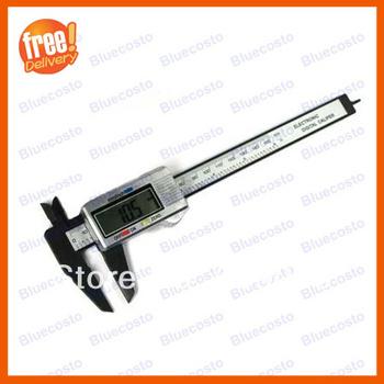 "6"" 150 mm Carbon Fiber Composite Digital Electronic Vernier Caliper Ruler Gauge"