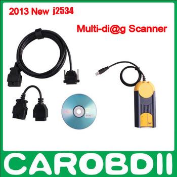 Auto scan tool Multi-Di@g Access J2534 Pass-Thru OBD2 Device Multi Diag J2534