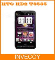 T8585 HTC HD2 original unlocked T8585 HTC HD2 mobile phone gps Windows wifi 3g 4.3 inches touch screen 5 MP freeship