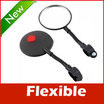 Bicycle Bike Sports Handlebar Flexible Rearview Mirror