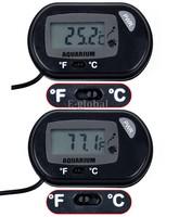 3Pcs/Lot Aquarium LCD Digital Thermometer Fish Tank Water Free Shipping TK0215