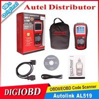 [Authorized Distributor]Auto diagnostic Code reader Autel Auto Link AL519 AUTO scan tool update on official website