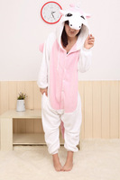 Winter New Hot JP Anime Unicorn Cosplay Costume Onesies Pajamas Adult Pyjamas Party
