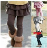 Free shipping(1pc)Retail 1pc Girls&#39; Leggings Tights Children&#39;s skirt Girls Skirt-pants Cake skirt Girl&#39;s pants
