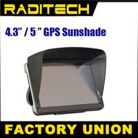 Free shipping 4.3 /5 inch GPS universal sunshade sunshine shield navigator partner Sun shade / hood / sun hats