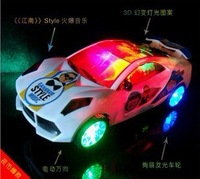 Free Shipping,Pixar Cars camaro Light music Automatic steering toy cars / truck toy/car/action toy figure