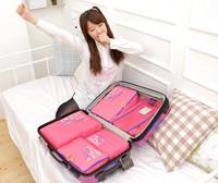Free Shipping Travelling Bag in Bag Mesh pouch Nylon Organizer Bag (3pcs/set)