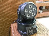 6*12w RGBW 4 in 1 mini wash moving head light,low price disco light  LTD-m006