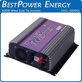 600W Wind Turbine Grid Tie Inverter DC Input, Built-in Dump Load Controller, Wind Power Inverter with MPPT Function