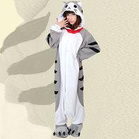 New Adult Chi's Cat Pajamas Sleepsuit Cosplay Wholesale Halloween  costume