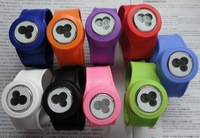 silicone slap on digital watches for kids EG-SSN01 round shape slap watch  miqi snap watches online  EG-SSN01D