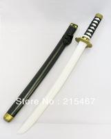 1 PIECE Toy Plastic Ninja Sword knife costume play Katana SAMURAI Martial Weapon - BLACK COLOUR