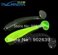 Tsurinoya Magic Soft Fishing Lures Soft Baits 75mm3.2g 6pieces/bag 3bags/lot