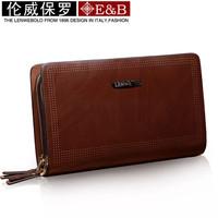 Hot sale!! LENWE BOLO New Fashion Business Men Clutch Bag Wallet Men Handbag free shipping