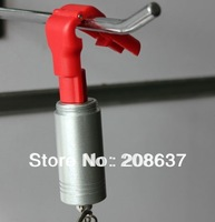 Stop locks hook ,red color,6mm diameter , 200pcs+2pc magnetic detacher,shipped out in 48hours,FREE SHIPPING