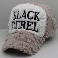 2014 new arrived Black rebel letter baseball cap autumn and winter cap male women's lovers plush winter hat