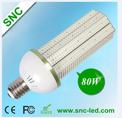 free shipping high lumen 80w e40 led corn light bulb replace CFL,HPS, MHL AC85-277V with 3 years warranty (CE,RoHS,PSE)(China (Mainland))