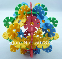100PC Mix colors Snowflake Puzzle Educational /Intelligence toys