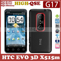 "G17 Original Unlocked HTC EVO 3D X515m Mobile Phone, Dual core, WIFI, GPS, 5MP Camera, 4.3""Touchscreen,  Fast Free Shipping!"