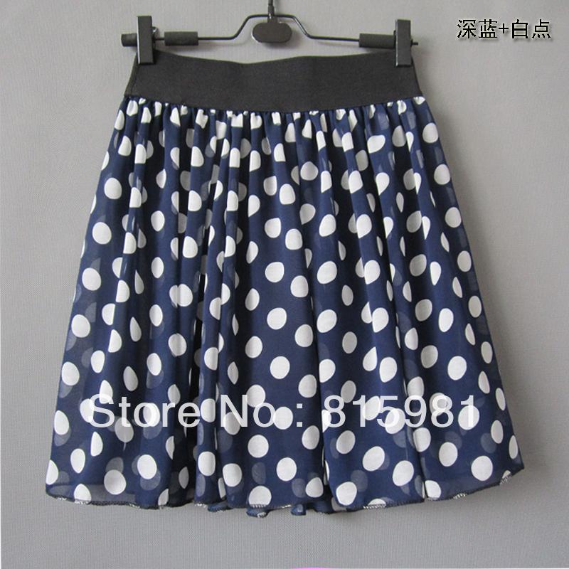 aliexpress buy 2013 summer navy blue white polka dot