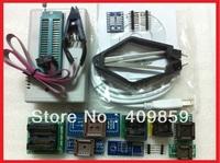 Free Shipping! Russian Manual V6.0 MiniPro TL866CS USB Universal Programmer/Bios Programmer 13143+11items +IC Clamp SOIC8