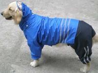 Raincoat for big dog, Sheepdog, Chow chow, Tibetan mastiff, Very cool pet trench rain suit, size S,M,L,XL,XXL + Free Shipping
