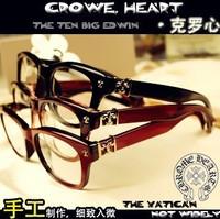 Plain glasses can match myopia, unisex eyeglasses 6 colors crowe glasses
