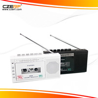 Free Shipping Panda 6503 fm radio portable radio two band radio USB / TF tape transcription tape recorders
