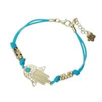 Loss Selling Fashion Classic Fatima Hamsa Hand Charm Lucky Bracelet Drop Shipping Jewelry