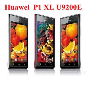 Original HUAWEI Ascend P1 XL U9200E mobile phone  Android 4.0 Dual Core 1.5GHz 3G 1GB RAM+8GB ROM include Russian Menu