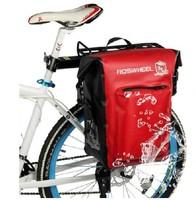High Quality Bicycle Rear Seat Trunk Bag Handbag Pannier Black 20L Waterproof 14611