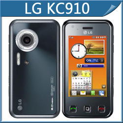 LG kc910 mobile phone,original unlocked kc910 cell phone 3G WIFI GPS 8MP one year warranty(China (Mainland))