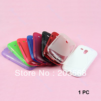 2013 New Arrival S Shape Soft TPU Gel Case Cover Skin For Samsung Galaxy S3 Mini i8190